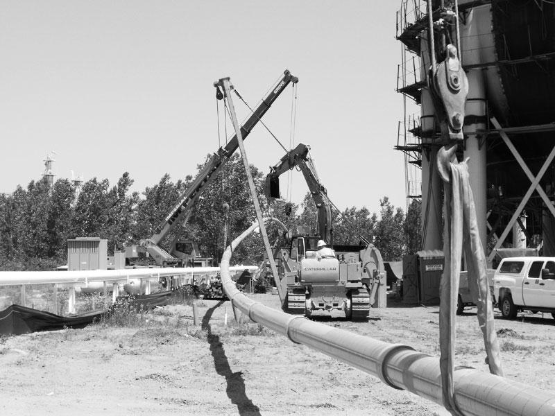"""Buckeye 8"""" Propylene Rail Loading Project"""